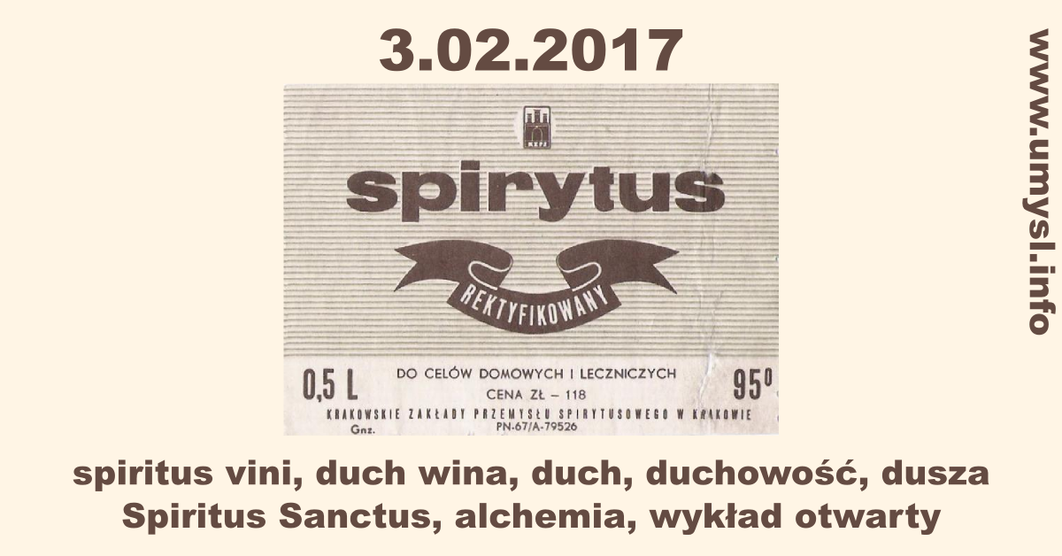 alchemia Katowice medytacja spirytus